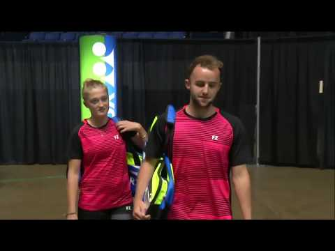 Yonex US Open 2017 | Badminton SF M5-XD | Kim/Shin vs Lane/Pugh