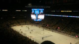 Last 2 minutes of Nashville Predators vs. The Chicago Blackhawks