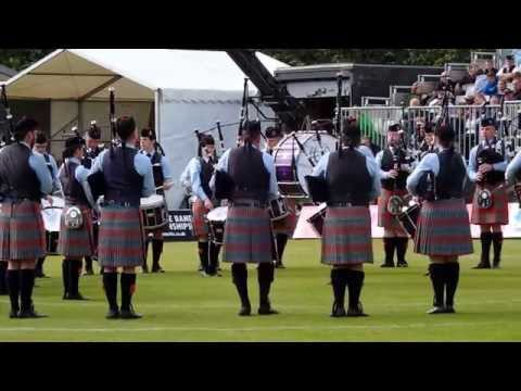 Shotts & Dykehead Pipe Band  - Grade 1 World Pipe Band Champions 2015 - Medley