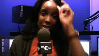 Kelly Rowland's video blog on 1Xtra Breakfast