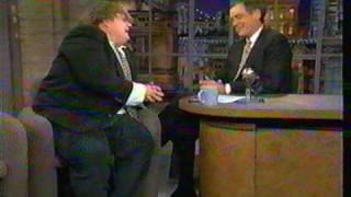 Chris Farley on Letterman 2 of 2