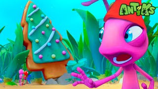 Oddbods Present: Antiks | Spreading Christmas Joy With.. COOKIES! | Funny Cartoons For Kids