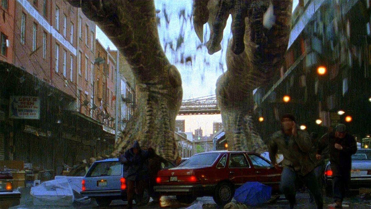Download Godzilla Arrives in New York - Fishing Scene - Godzilla (1998) Movie Clip HD