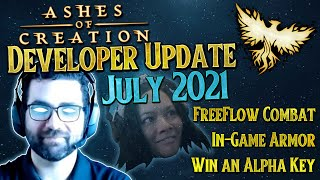 Ashes of Creation Developer Update July 2021