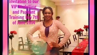 Invitation to our VIP Modelling and Pageant Training day 7th of June 2014 Thumbnail