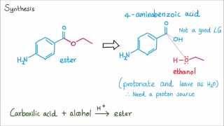 Benzocaine Synthesis _ Organic Chemistry Lab