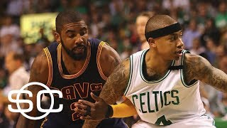 Cavaliers and Celtics engage in trade talks for Kyrie Irving | SportsCenter | ESPN