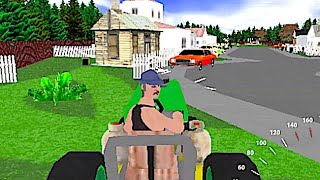 Mower Mayhem - Crazy Taxi Goes Gardening in this Arcade Racing Mow 'Em Up Inspired by SEGA Classics!