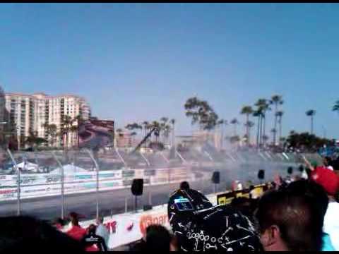 Vaughn Gittin Jr. wins Formula Drift - Long Beach, California