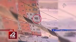 Выпала с 9-го этажа, отряхнулась и пошла | Видео