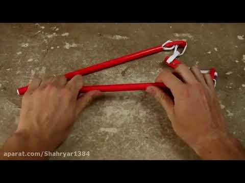 آموزش ساخت نانچیکو با کاغذ