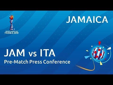 JAM v. ITA - Jamaica - Pre-Match Press Conference