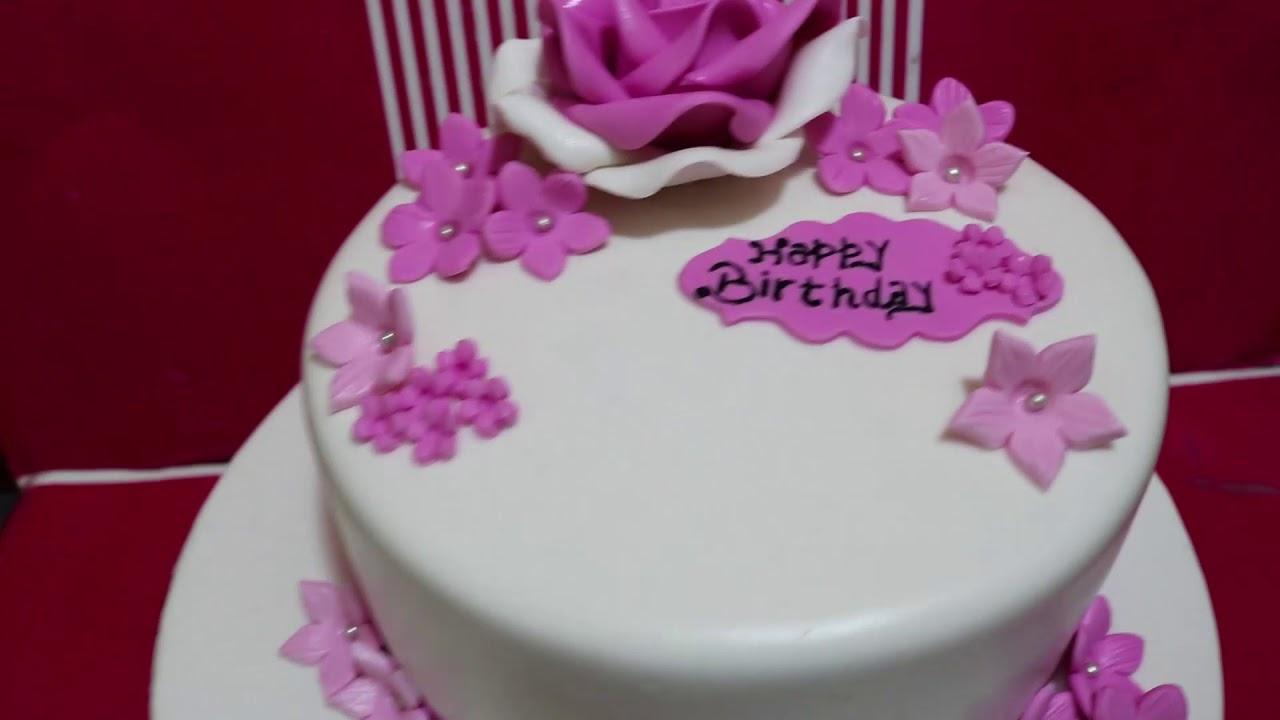 Amazing Girls Birthday Cake Cake Feasta Youtube