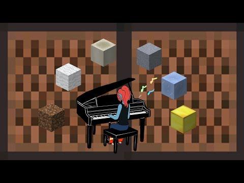 She's Playing Piano Minecraft Noteblock Remix