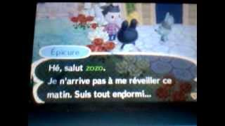 Animal Crossing New Leaf 17: Le Salon de Détente.