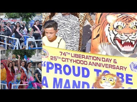 Mandaluyong City 74th liberation day Parade 2019 Vlogs-#28