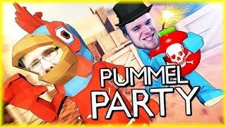 ŁOWCY PUCHARÓW - NOWA PARTY GAME (2/2) | Pummel Party [#2] | BLADII
