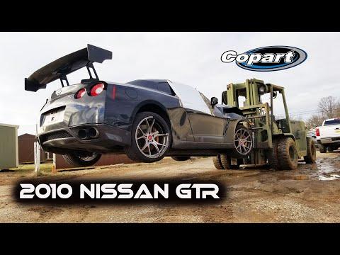 Rebuilding a WRECKED 2010 Nissan GTR