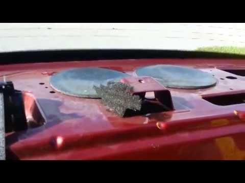 Jaguar X Type Rear Seat Removal Speakers Youtube