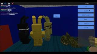 Springtrap's Life | Roblox - Five Nights At Fredbear's roleplay