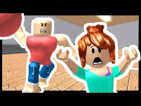 ANGRY DODGEBALL - Roblox - Escape School Obby