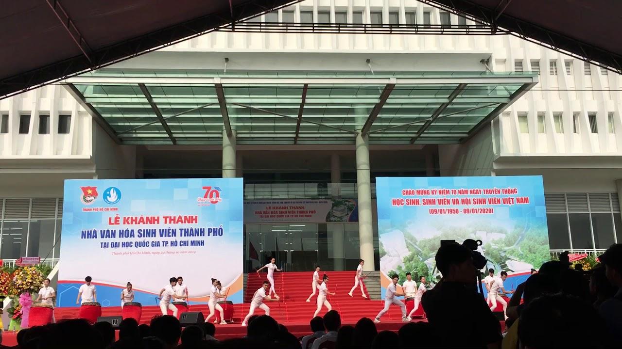 Lễ khánh thành Nhà văn hoá sinh viên  — tại Đại học Quốc Gia TP HCM