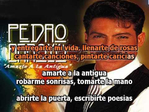 Pedro Arroyo - Amarte a La Antigua [karaoke) [Con Voz Original]