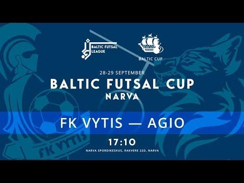 Baltic Futsal Cup. FK Vytis - AGIO. Прямая трансляция РУС