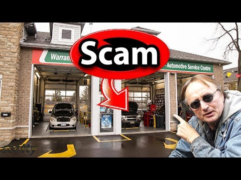 Why Oil Change Shops Are A Scam