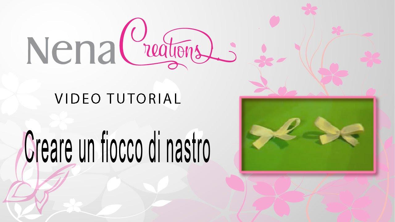 Top Tutorial : Creare un piccolo fiocco di nastro :) - YouTube HV08