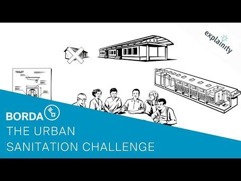 The Urban Sanitation Challenge - BORDA's working approach