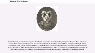 Johanna Schopenhauer