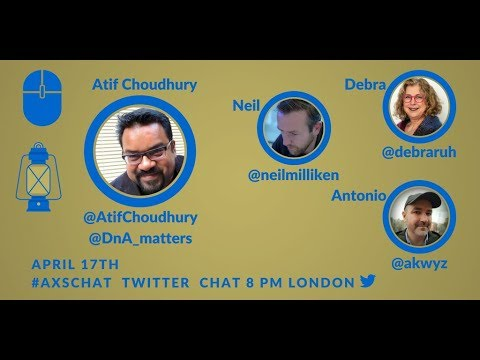 AXSchat with Atif Choudhury  CEO, Diversity & Ability (DnA)