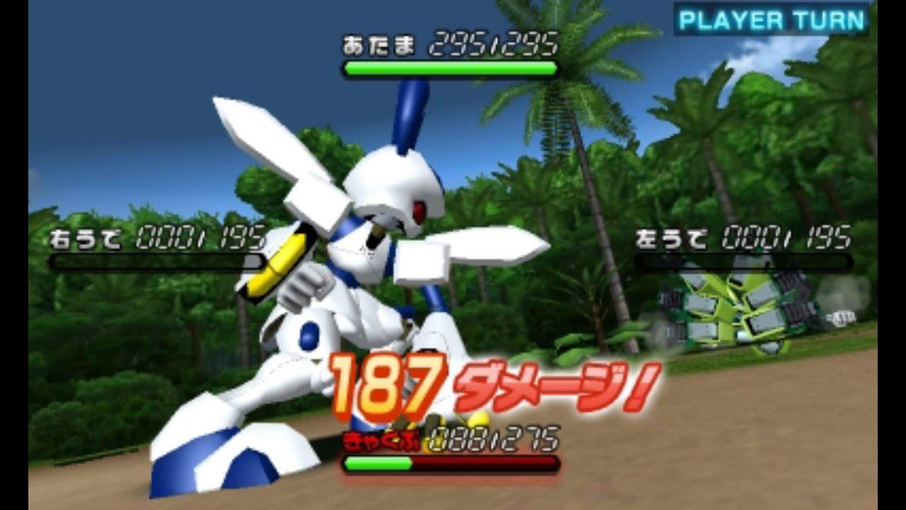 3DS「メダロット8」ロボトルムービー