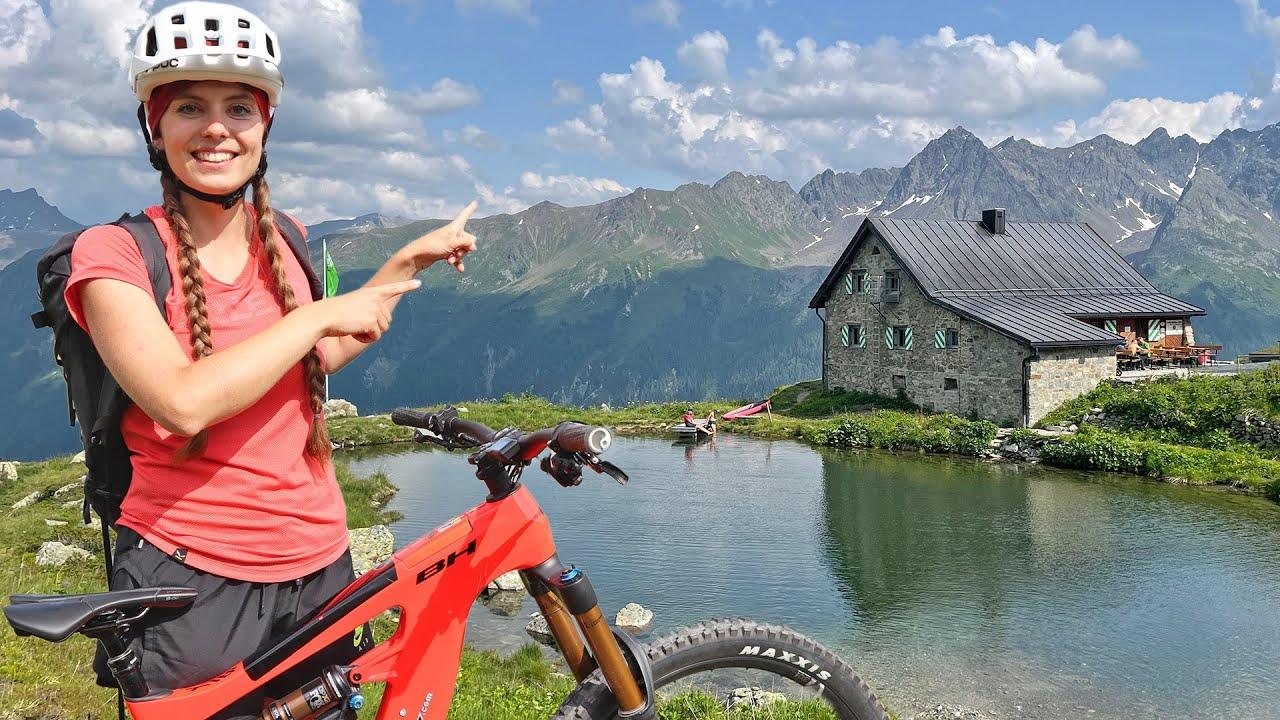 Megastark! E-Mountainbike-Tour in ISCHGL: Bis auf 2.641 Meter Höhe im Paznaun