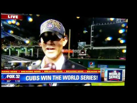 Theo Epstein drops a big FUCK YOU live of Fox interview