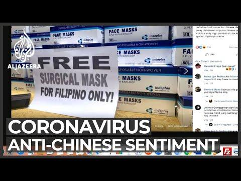 Reports of anti-Chinese views in Philippines over coronavirus