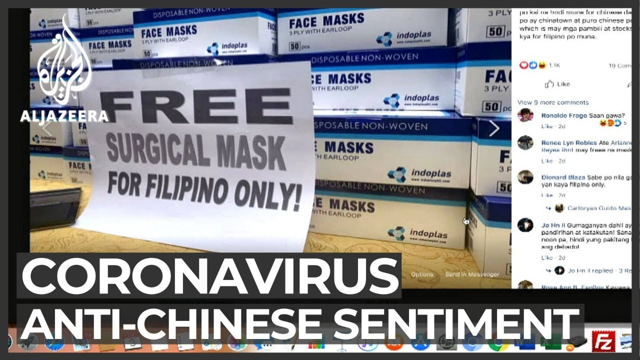 Reports of anti-Chinese views in Philippines over coronavirus ...
