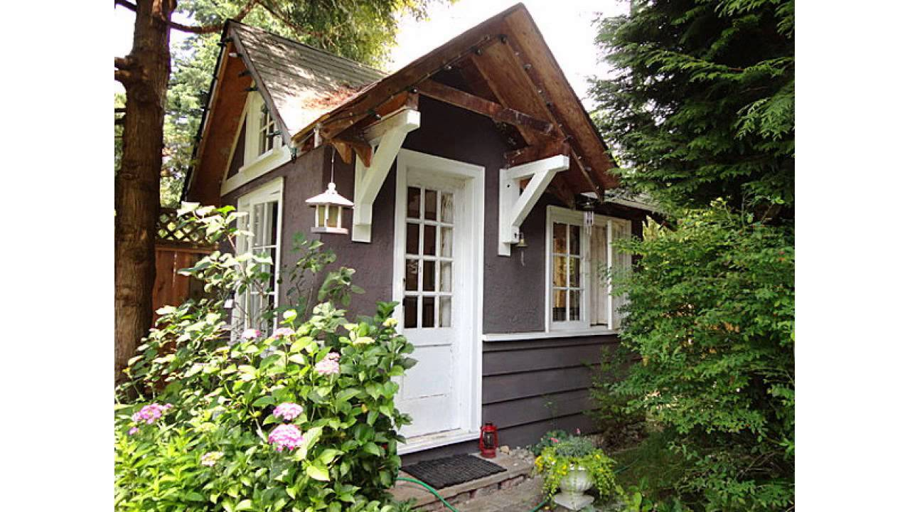 Backyard landscaping design ideas charming cottages and sheds ...