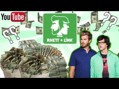 how much money do rhett and link make 2016 good mythical morning