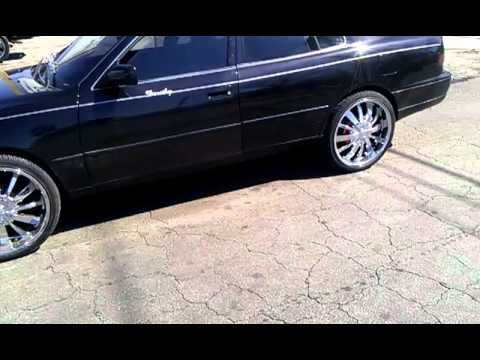 Camry on 20 inch rims
