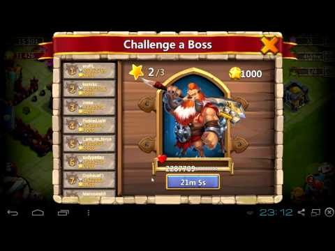 #037 Immortep And Chain Stun Boss Tier 2 - Castle Clash