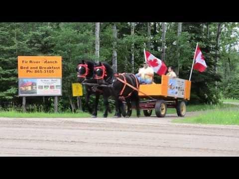 Saskatchewanderer visits Hudson Bay, SK