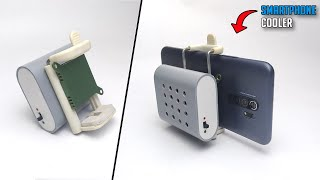 How To Make Smartphone Cooling Fan At Home | Smartphone Cooler