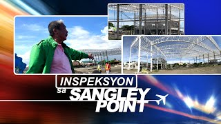 24 Oras: Ginagawang Sangley Point Airport, ininspeksyon ni Sec. Tugade at ...