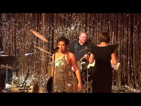 """Lindsay Cherin Performing Don't Rain on My Parade for the """"On Broadway"""" Charity Event"""