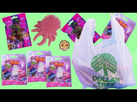 $1 Surprise Blind Bag Trolls Dollar Tree Store Haul Video