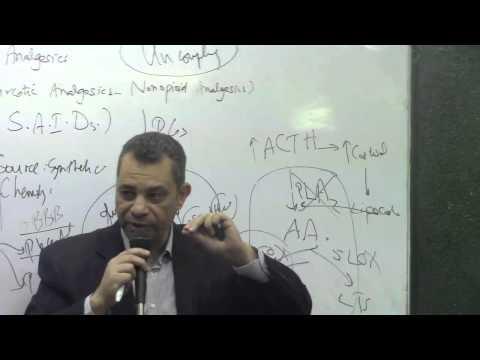 55. Dr.Ahmed Abdelrahman [NSAIDs-salicylates ( kinetics + Dynamics + uses )]