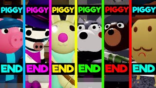 Roblox Piggy Book 2 (All 16 Endings) Piggy Game!
