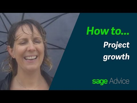 How to project growth - Sage Business Startup Essentials